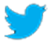Twitter Logo: Find us on Twitter