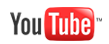 Youtube Logo: Find us on Youtube
