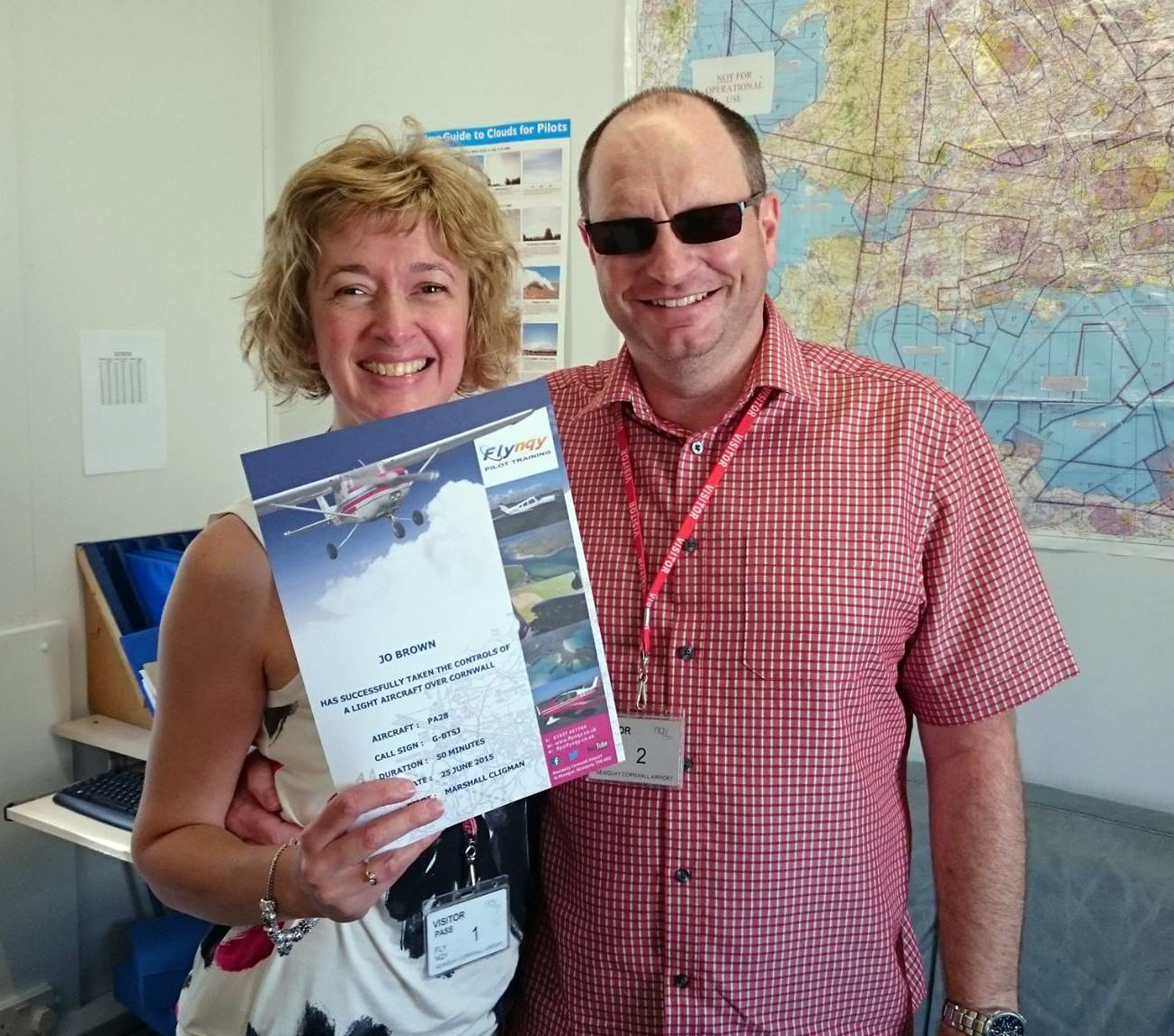 Receiving a flight certificate after the Trial Flight Experience