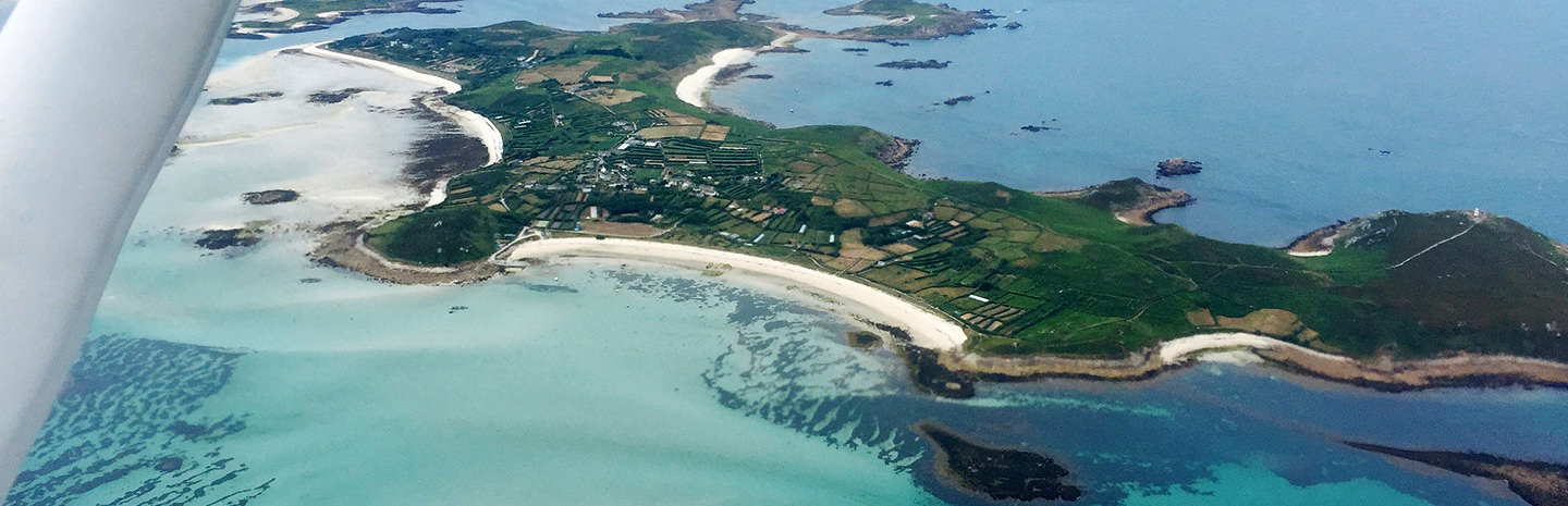 Isles of Scilly on a Land Away Flight Experience