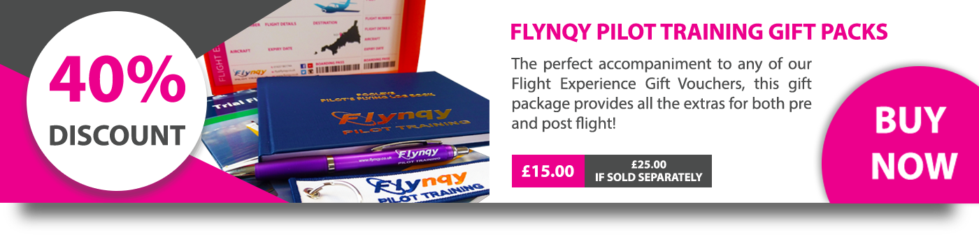 Flynqy Pilot Training Gift Pack Promotion: 40% Discount - Now £15.00